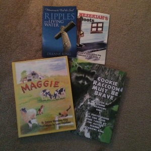 Children's books written by DiAnne Meadows King These books are no longer in circulation you have to send me a private message or request for a copy to get one mailed to you. each cost 10.00 plus 1.00 postage. However if you buy two or more I ship free. Money orders please. NO personal checks.
